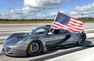 Top 5 cele mai rapide masini din lume in 2018